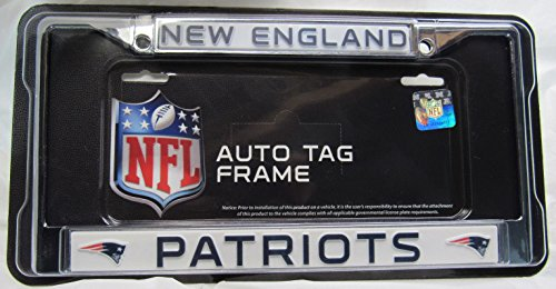 new england license plate frame - 4