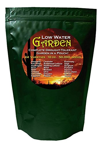 Heirloom Organics Non-Gmo Low Water -24 Varieties Non-Hybrid Seeds - Sealed For Long Term Storage