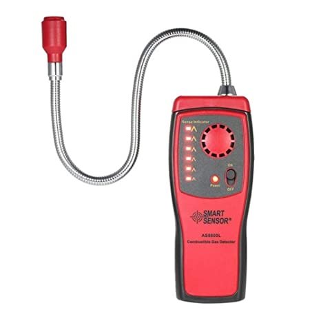 Biback Analizador de Gas Auto Detector de Coche Dispositivo de Prueba para brennbares Gas Fuga Lugar