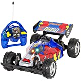 Best Choice Products Blue Rhino RC Remote Control Super Fast Racing Car Buggy Vehicle, Multicolor
