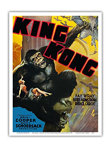 King Kong - Starring Fay Wray, Robert Armstrong, Bruce Cabot
