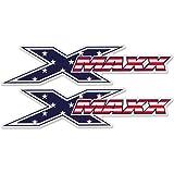 American Flag X-Maxx Logo Sticker (2) for Traxxas X-Maxx XMAXX