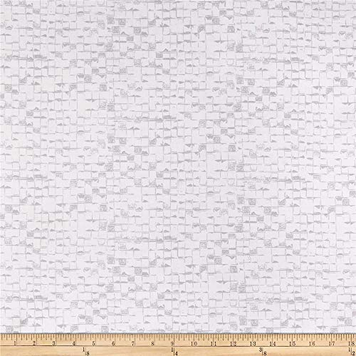 Windham Fabrics Homeward Hearth Light Grey Fabric Fabric by the Yard from Windham Fabrics