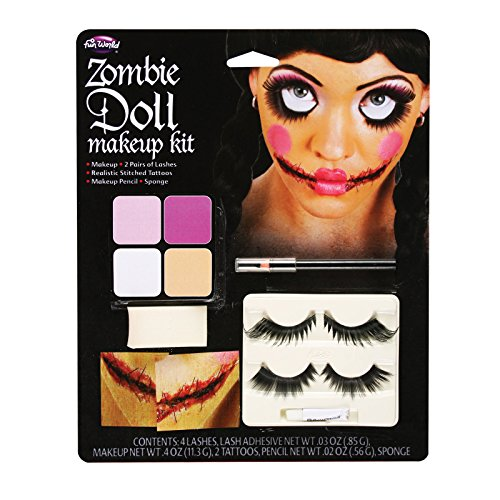 Zombie Doll Makeup - ST -