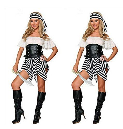 Cosplay Female Pirate Costume Halloween Party Pirate Costume