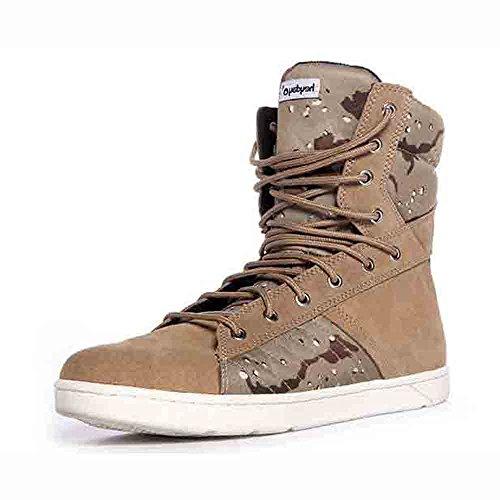 Heyday Footwear Men's High Top Tactical Trainer Desert Ca...