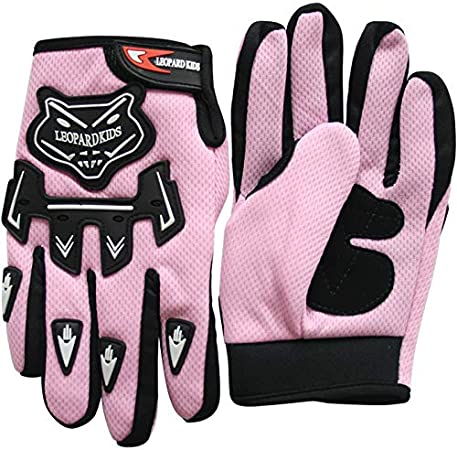 Leopard Kinder Motocross Handschuhe Cross Motorrad Quad Off-Road f/ür Youth
