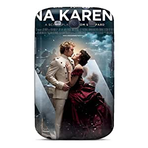 New Anna Karenina Movie Tpu Case Cover, Anti-scratch CcQ3528Cyhg Phone Case For Galaxy S3