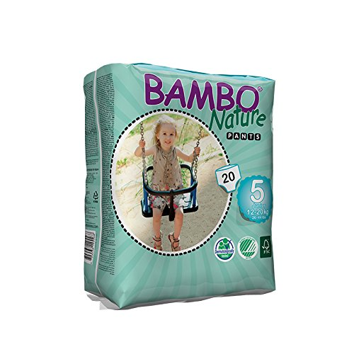 Large Product Image of Bambo Nature Baby Training Pants Classic, Size 5 (26-44 lbs), 20 Count