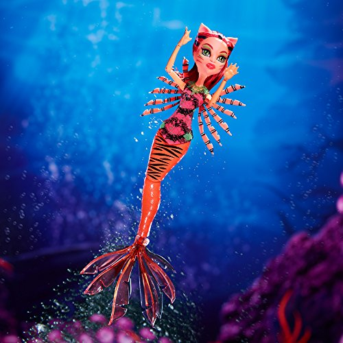 Monster High Great Scarrier Reef Glowsome Ghoulfish Toralei Doll