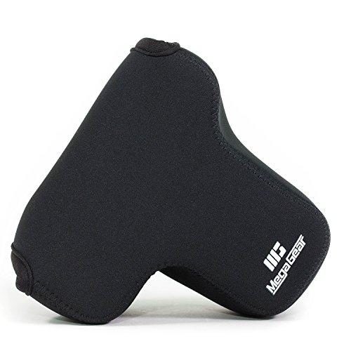 MegaGear MG640 Sony Alpha A7S II, A7R II, A7 II (28-70mm) Ultra Light Neoprene Camera Case, with Carabiner - Black