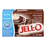 Jell-O Fat-Free Instant Pudding, Chocolate, 40g (Pack of 24)