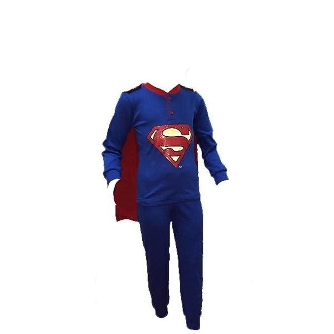 l'ultimo 778b5 63c5c Pigiama bambino Superman con mantello ufficiale Dc Comics ...