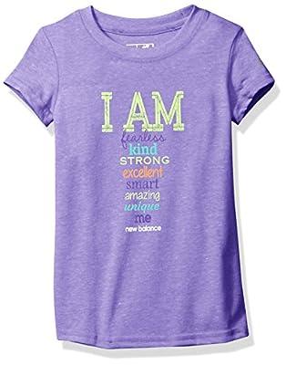 New Balance Girls' Short Sleeve Graphic T-Shirt