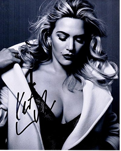 Kate Winslet Signed - Autographed TITANIC Actress 8x10 inch Photo