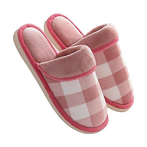 Chaussons Antidérapante Automne Pantoufle Respirante pour Chaussures Maison Hiver Hiver Intérieur Rouge d'intérieur Femme Homme Chausson Automne w8dxXFqF
