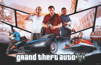 Poster GTA 5 Paper Print (12 inch X 18 inch, Rolled)