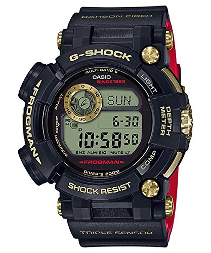 CASIO G-SHOCK GWF-D1035B-1JR FROGMAN GOLD TORNADO 30th Anniversary Mens