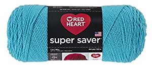 RED HEART Super Saver Yarn, Turqua