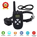 PetCul P12 Professional Dog Training Collar 100% Waterproof and Rechargeable with 4 Modes