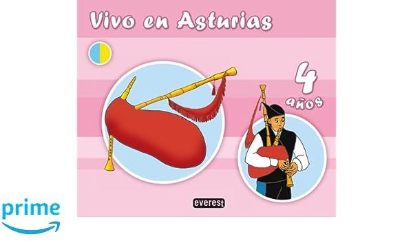 Vivo en Asturias. 4 años - 9788444171302: Amazon.es: Rozado ...