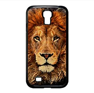 Lion Watercolor style Cover Samsung Galaxy S4 I9500 Case (Wild Watercolor style Cover Samsung Galaxy S4 I9500 Case)