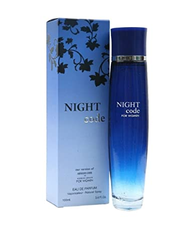 Night Code Perfume for Women 3.4 Fl. Oz. by Diamond Collection