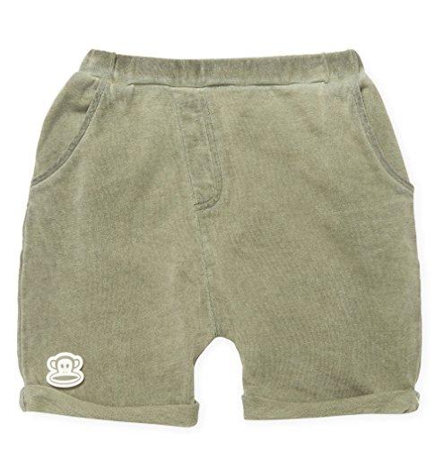 Rachel Zoe x Paul Frank Boy's Knit Cotton Army Shorts (Size - Zoe Rachel Kid