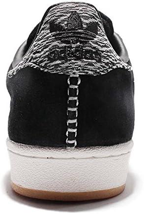 Adidas Herren Superstar, Core Black/Off White, 9,5 M US