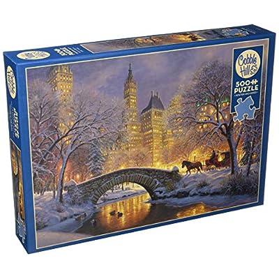 Cobblehill 85041 500 Pc Winter In The Park Puzzle Vari