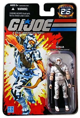 G.I. Joe 25th Anniversary: Storm Shadow (Cobra Ninja) 3.75 Inch Action Figure ()