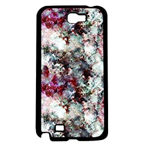 Strawberry Marbleized Colorful Hard Snap on Phone Case (Note 2 II)