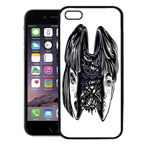 Semtomn Phone Case for iPhone 8 Plus case,Portriat