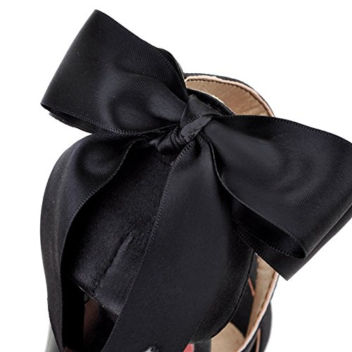 Sandals Black Heel Women's summer Bowknot Stiletto Sandals for Dress Dress Platform SaraIris 8gaqfxw