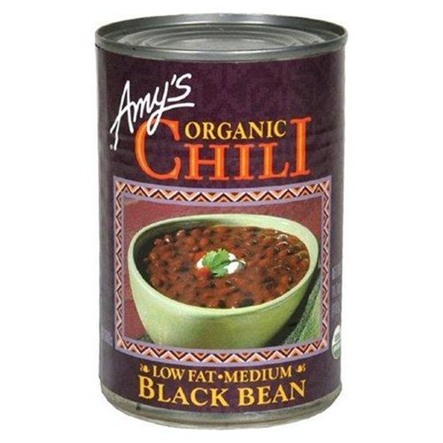 Amy's Organic Black Bean Chili, 14.7-Ounce Cans ( Value Bulk Multi-pack)(PACK OF 24) by Amy's