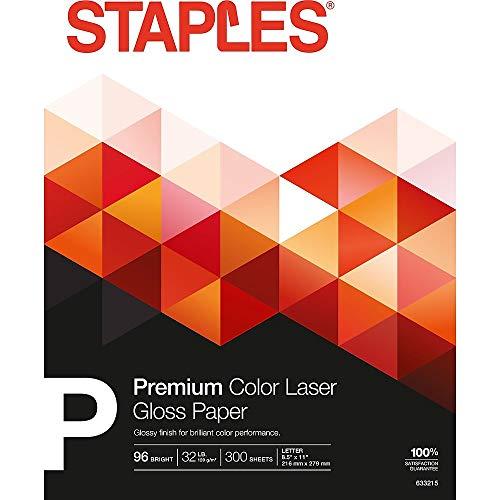 Staples Color Laser Paper, 8 1/2