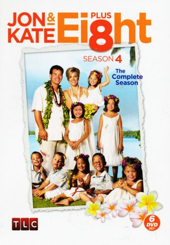 Jon and Kate Plus Ei8ht: The Complete Season 4 (6 DVD Set) (17 Kids And Counting 2 Dvd Set)