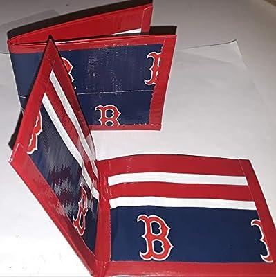 Boston Red Sox MLB Baseball Bi-Fold Duct Tape Wallet