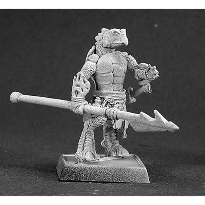 Reaper Miniatures Chhaya, Sergeant #14454 Reptus Unpainted RPG D&D Mini Figure: Toys & Games