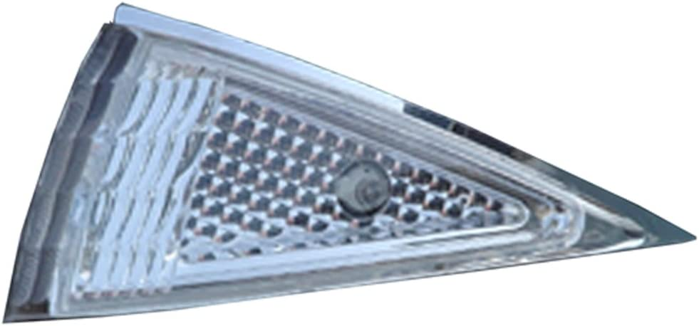 IPCW CWC-319C Chevy Cavalier Clear Crystal Diamond-Cut Corner Lens Pair