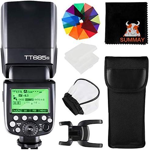 Godox Tt685n Ttl Blitzgerät Für Nikon Kameras 2 4g Kamera