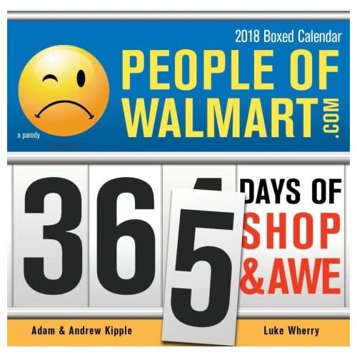 2018 People of Walmart 365 PageAday Daily Box Desk Calendar 70