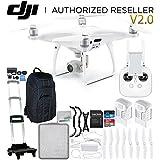 DJI Phantom 4 Pro V2.0/Version 2.0 Quadcopter Essential Travel Pro Backpack Bundle