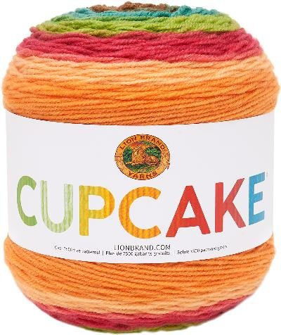 Apple Yarn (Lion Brand Yarn 935-223 Cupcake Yarn, Apple Picking)