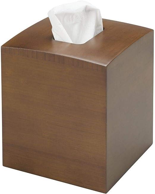 mDesign Dispensador de pañuelos – Elegantes fundas para cajas de ...