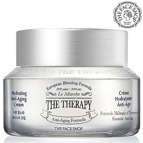 Anti Aging Cream with Hydration, [the Therapy] Anti Wrinkle Facial Moisturizer with Premium European Natural Botanical Ingredients - Handmade Formula from the Face Shop 50 milliliters/1.69 Ounces from THEFACESHOP