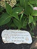 Pawprints Remembered Pet Memorial Stone Marker