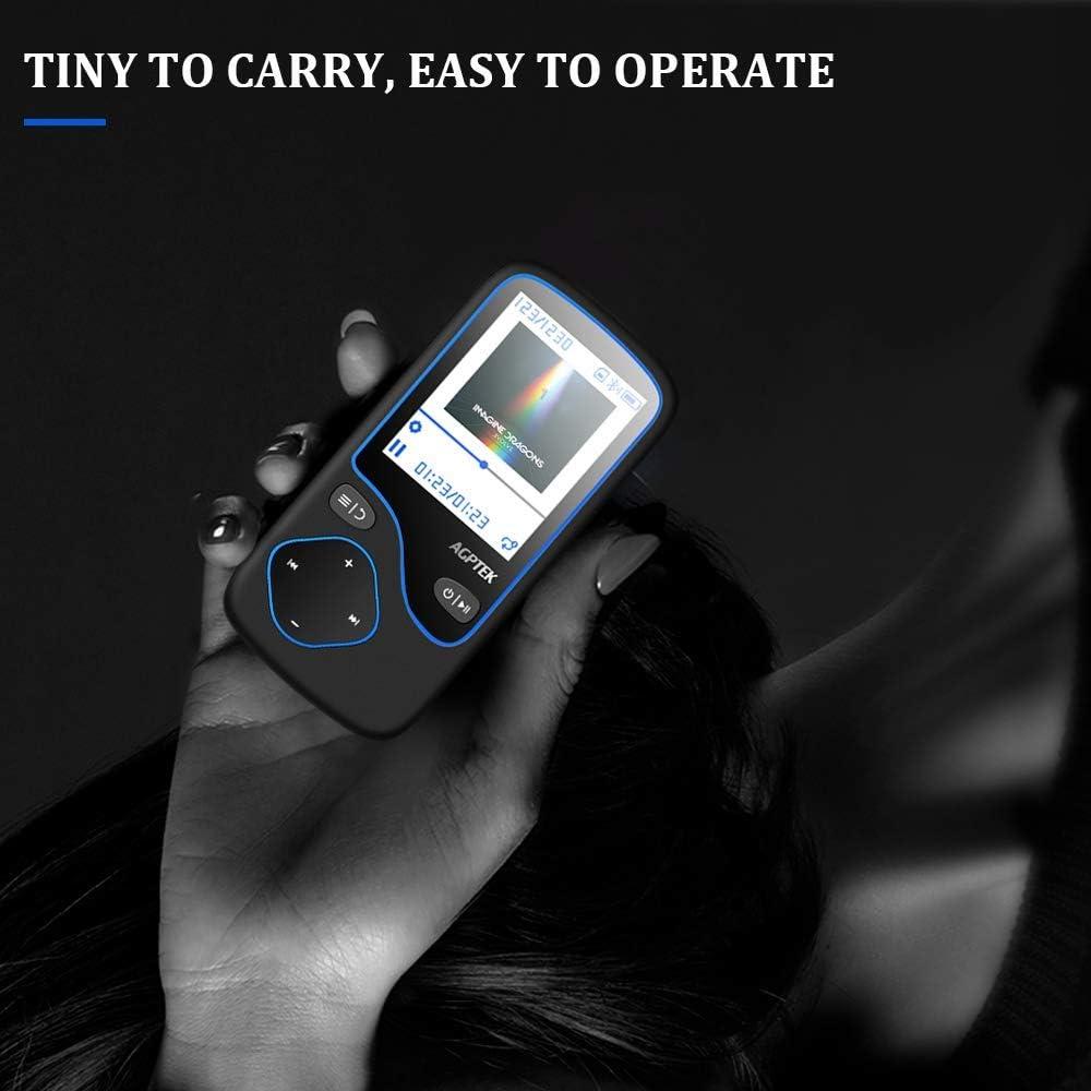 Victure MP3 Player 99 Stunden Wiedergabe Tragbarer verlustfreier Sound Music