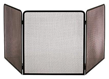 Les Ateliers dixneuf 003.20224 Terza protección de acero para estufa negro