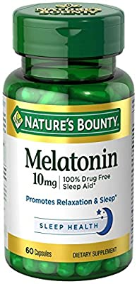 Nature's Bounty Melatonin 10 mg